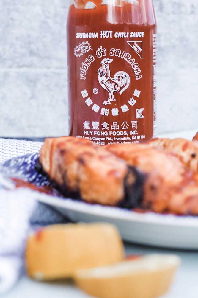 Easy Sriracha Salmon Recipe