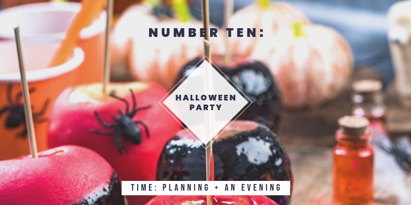 Things to do in Colorado in the Fall: Plan a Halloween Party