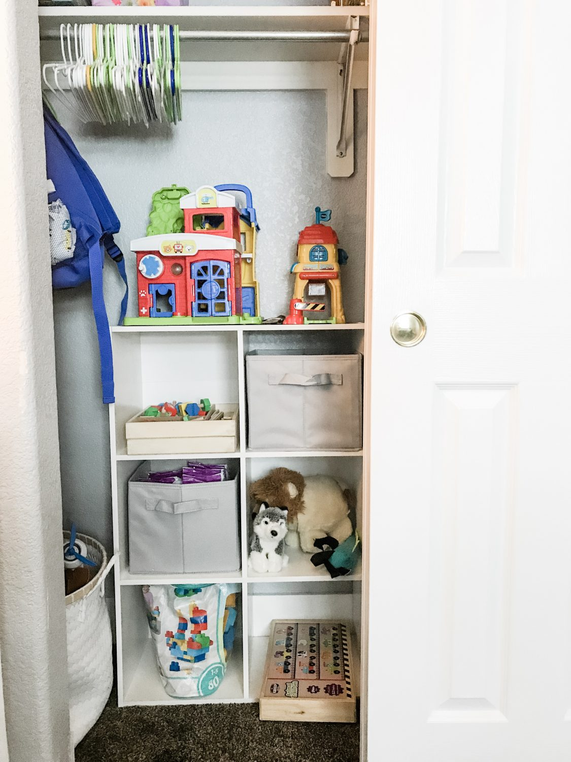 Boy's Room: Toy Storage + Organization
