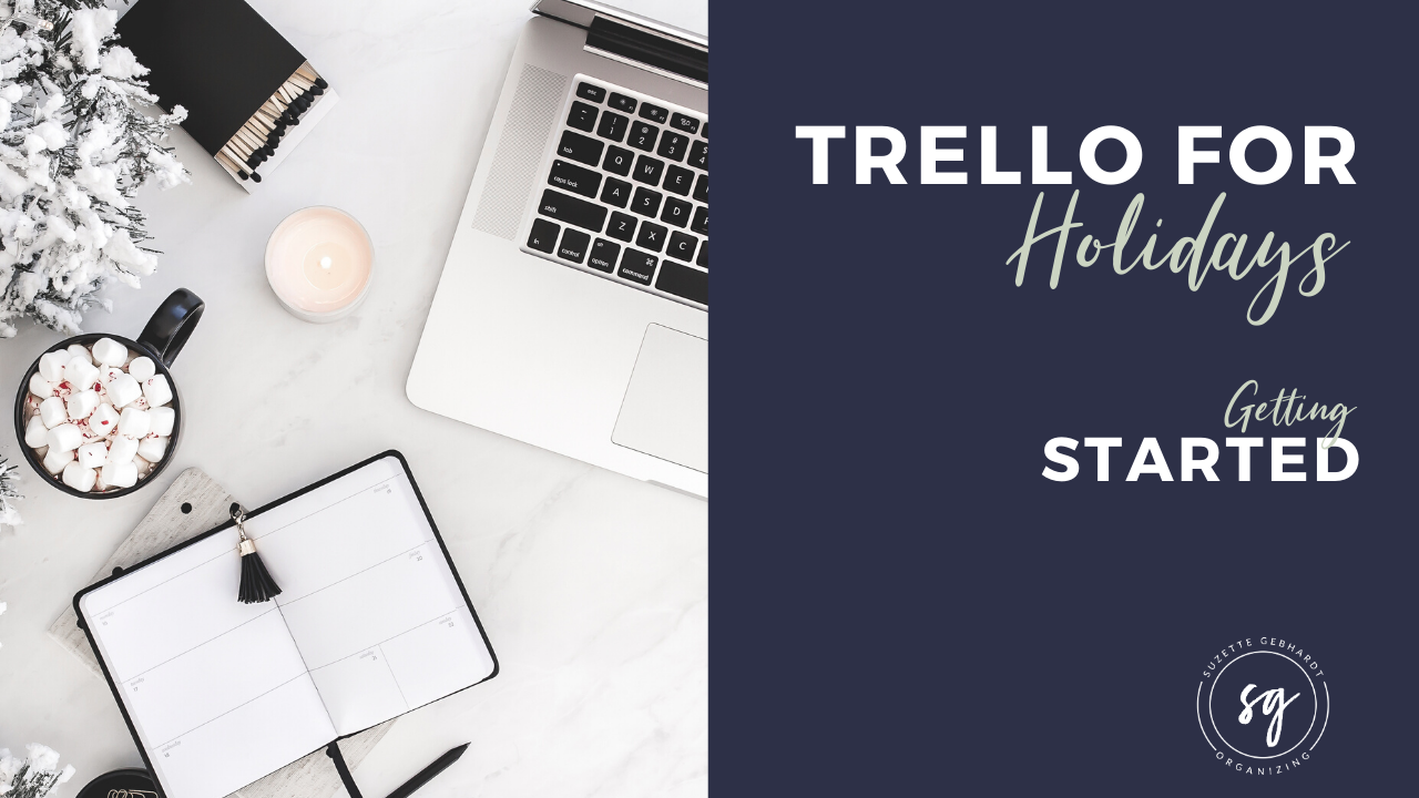 Getting Started Using Holiday Planner Trello Board
