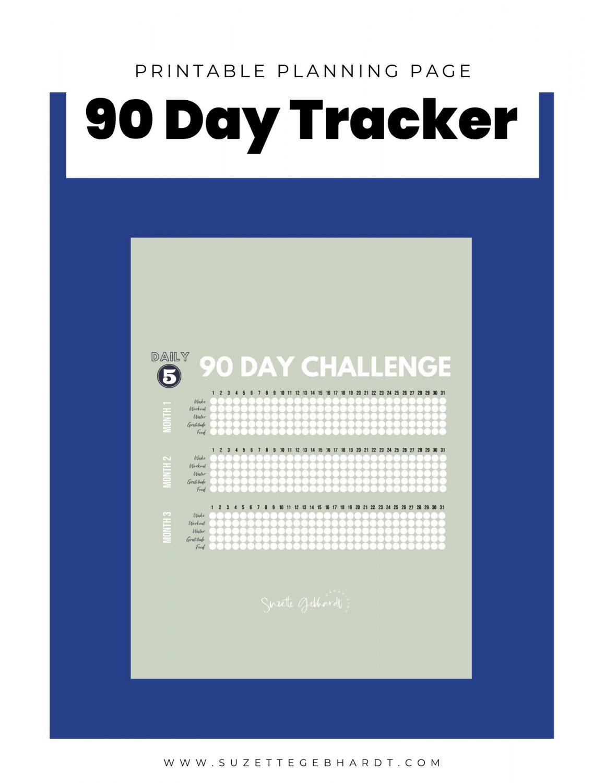 90 Day Challenge Tracker